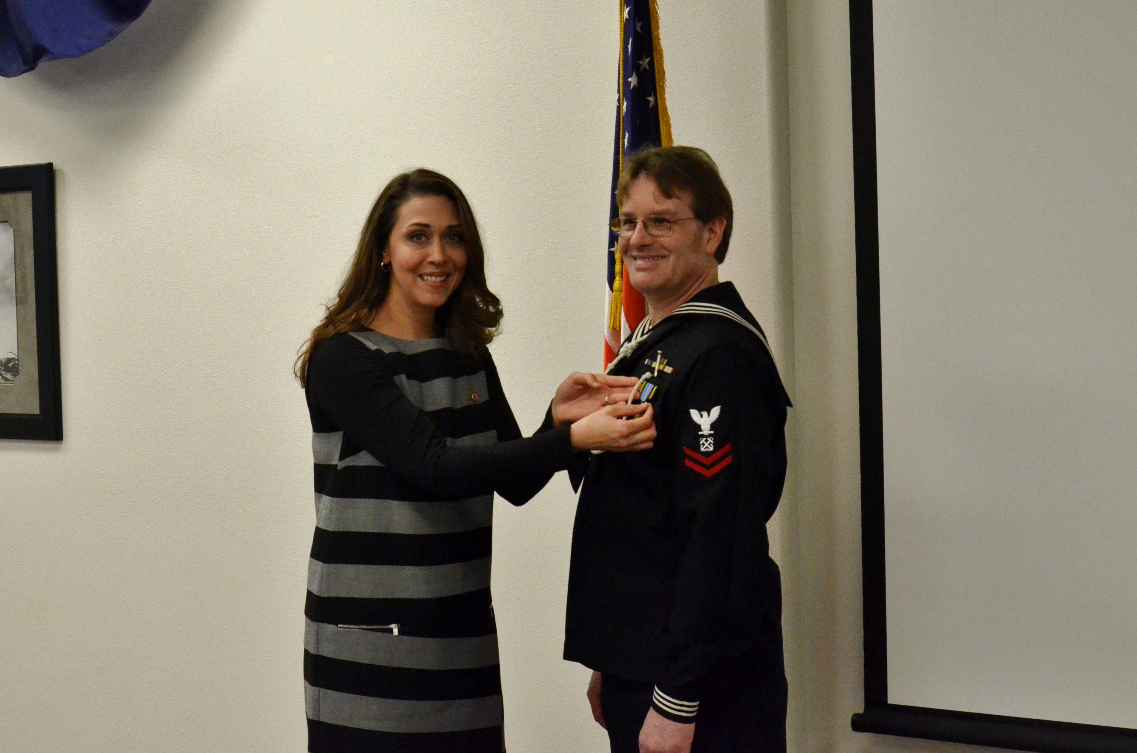 Craig Robinson Receives Armed Forces Expeditionary Medal